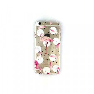 Husa APPLE iPhone 5\5S\SE - Ultra Slim Flamingo (Design No. 4)