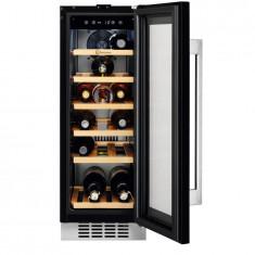 Vitrina pentru vinuri incorporabila Electrolux ERW0673AOA, 18 sticle, 56 l, clasa A, negru