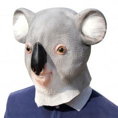 Masca latex urs Koala bear Australia petrecere Halloween Cosplay animal +CADOU!