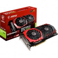 Placa video MSI NVIDIA GeForce GTX 1060 GAMING X 6G, PCI Express x16 3.0, 6144MB, GDDR5 , 192bit, 1506MHz/core clock 1809Mhz, DisplayPort x 3 bulk