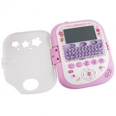 Calculator interactiv pentru fetite Hello Kitty Clementoni, 16 functii, Roz/Alb