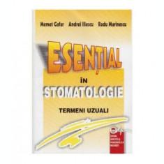 Esential in stomatologie - termeni uzuali
