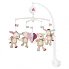 Carusel muzical mobil - Magarus pastel PlayLearn Toys