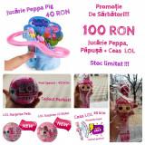 Jucarii Lol, Frozen, Peppa Pig, Eroii in pijamale, Disney