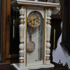 Ceas de perete/birou cu pendul Junghans A13