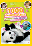 1000 de autocolante. Animale dragalase/National Geographic Kids
