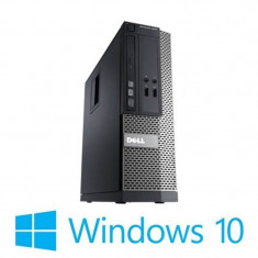 Calculatoare Refurbished Dell OptiPlex 3020 SFF, Intel Core i5-4590, 1TB HDD, Win 10 Home