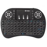 Cumpara ieftin Tastatura Iluminata Wireless i8 Air Mouse cu Touchpad pentru TV Box si Mini PC, Android OS, Smart TV, PC, Laptop