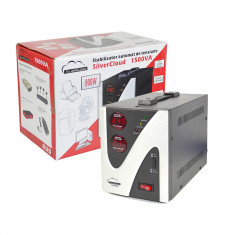 Resigilat : Stabilizator de tensiune SilverCloud 1500VA 900W