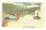 4950 - BRASOV, Litho, Romania - old postcard - used - 1898, Circulata, Printata