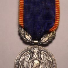 Medalie Regele Carol I - Avantul Tarii 1913
