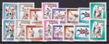 Yemen  1964  sport  olimpiada  MI 336-343 A+B    MNH  w59