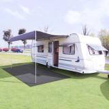 Covor pentru camping, 300 x 400 cm, antracit