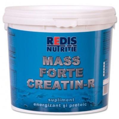 Mass Forte Creatin R, 1kg, ciocolata, Redis foto