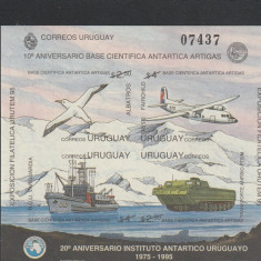 29 de ani de la infintarea institutului antartic din Uruguai., Protectia mediului, Nestampilat