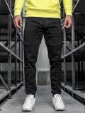 Pantaloni de trening bărbați negri Bolf JX8957