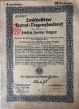 50 Centi Reichsmark titlu de stat Germania 1923