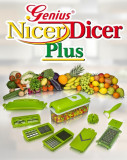 Razatoare si tocator maruntitor legume sau fructe Nicer Dicer PLus