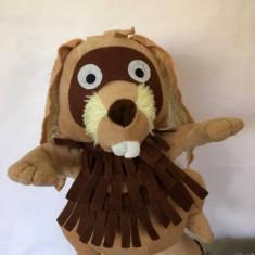 Marioneta teatru de papusi, papusa manuala (pe mana), iepure