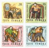 România, LP 718/1970, C.M. de Hochei pe Gheață, MNH, Nestampilat