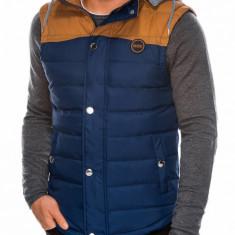 Vesta barbati - V26-albastru