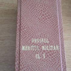 MCP1 - DECORATIE MILITARA COMUNISTA - ORDINUL MERITUL MILITAR CLASA I + BONUS!!!