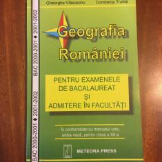 Vlasceanu / Trufas - GEOGRAFIA ROMANIEI Bacalaureat Admitere Facultate