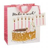 Punga pentru cadou medie - Make a wish | Glick