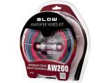 Kit Cabluri Audio Blow AW200 pentru Masina pentru Conectare Boxe, Subwoofere, Statii, Amplificatoare Auto