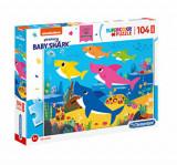 Cumpara ieftin Puzzle Maxi Baby Shark, 104 piese, Clementoni