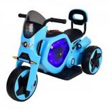 Tricicleta electrica DHS, albastru cu negru