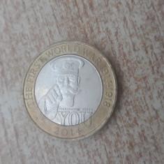 Anglia - 2 lire 2014 - jubiliar.