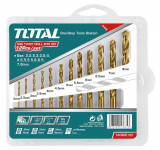 Cumpara ieftin Set Burghiu Pentru Metal Hss: 12 Buc, Total