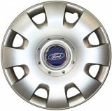 Set 4 Capace Roti Kerime R15, Potrivite Jantelor de 15 inch, Pentru Ford Moneo, Focus, Fiesta, C-Max, Kuga, Ka - Model 304 - Set de 4 bucati