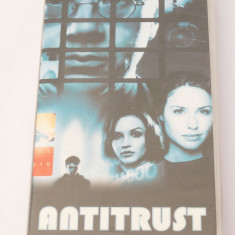 Caseta video VHS originala film tradus Ro - Antitrust
