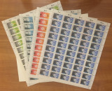 Germany 1973 50 x Environment protection in sheets Mi.774-777 MNH CA.042