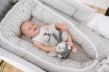 Baby Nest Grey Dots 95 x 60 x 17cm