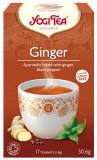 Ceai Bio de Ghimbir, 30.6gr Yogi Tea