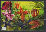 Nevis 2000 - Flori din caraibe, bloc neuzat