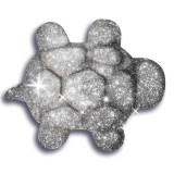 Nisip kinetic metale si minerale stralucitoare - Argintiu