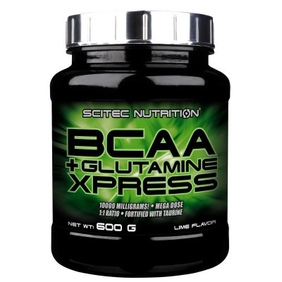 BCAA + Glutamine Xpress 600 grame, SCITEC foto