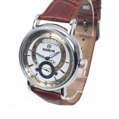 Ceas barbati mecanic, automatic, business - elegant GOER GO2154MSL