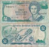 1996 ( 29 II ) , 2 dollars ( P-40Aa ) - Bermuda