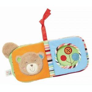 Carte din plus pentru bebelusi - Ursulet PlayLearn Toys