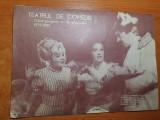program teatrul de comedie caiet nr. 15 stagiunea 1979-1980-stela popescu