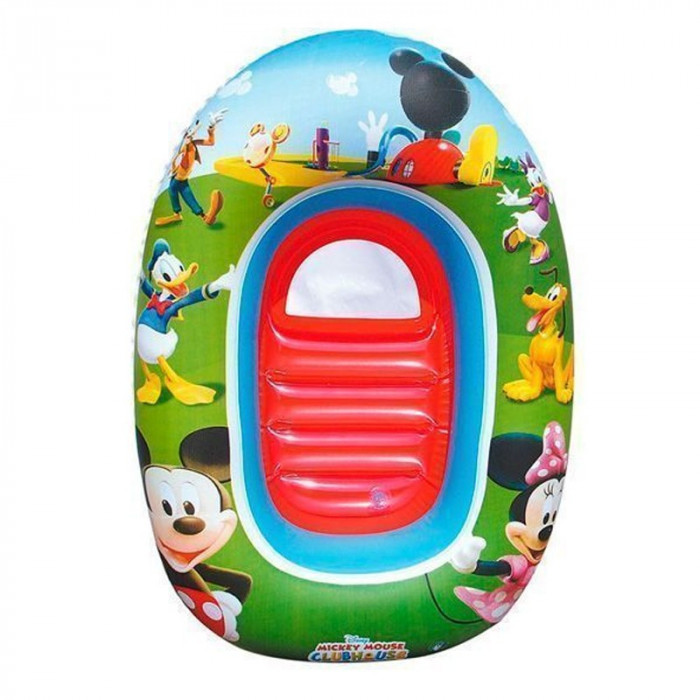 Barca gonflabila pentru copii Bestway, 102 x 69 cm, Multicolor