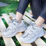 Pantofi dama sport albi Iolisa