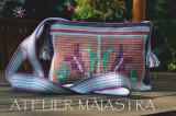 Cumpara ieftin Geantă handmade croșetată cu motivul tradițional din Bucovina gura-leului