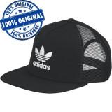 Sapca Adidas Originals Trefoil Trucker - sapca originala, Marime universala, Negru