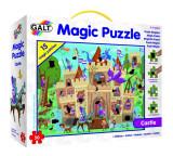 Puzzle pentru copii Galt Castelul, 50 piese, 4-8 ani